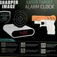 Sharper Image Laser Target Digital Alarm Clock