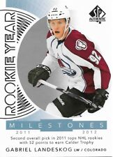 Gabriel Landeskog #RYM-GL - 2017-18 SP Authentic - Rookie Year Milestones