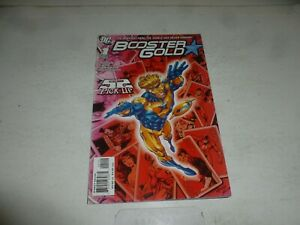 BOOSTER GOLD Comic - No 1 - Date 10/2007 - DC Comic