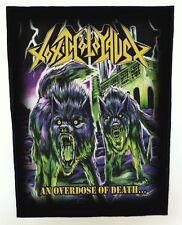 TOXIC HOLOCAUST BACKPATCH / SPEED-THRASH-BLACK-DEATH METAL