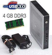 Thin Client hp T610 Tpc-W006-Tc 4gb Ddr3 Ram 2x Sata USB 3.0 696455-001+NT _T61