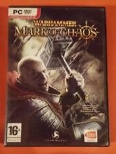 """PC GAME DVD ROM """"WARHAMMER MARK OF CHAOS"""" , COMPLETO, MANUALE ITALIANO"""