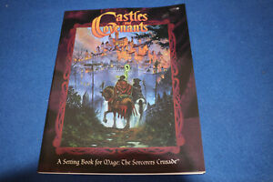 Castles and Covenants. White Wolf WW4803  book For Mage The Sorcerers Crusade
