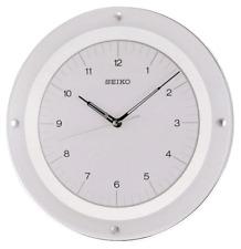 *BRAND NEW* Seiko White & Glass Wall Clock QXA314WLH