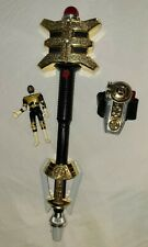 Power Rangers Zeo Legacy Golden Power Staff 1996