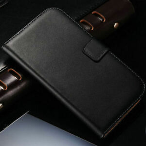 Real Luxury Genuine Leather Case for Apple iPhone X (10) Cover Wallet Flip