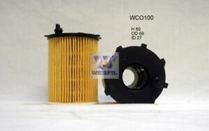 WESFIL OIL FILTER FOR Peugeot 2008 1.6L HDi 2013 10/13-on WCO100