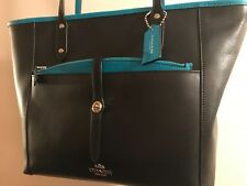 COACH City Tote Handbag With Pouch NEW