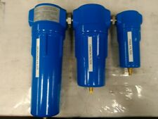 SPRAY BOOTH COMPRESSED AIR FILTERING SET - AIR COMPRESSOR OIL AND WATER REMOVAL