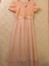 Vtg Jeffrey & Dara Nordstrom Light Pink  Evening Gown Dress Size 6