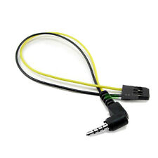 GoPro 1 y 2 90 grados AV Out Cable FPV 2.4 5.8 transmisor de video solo conducirá Fatshark