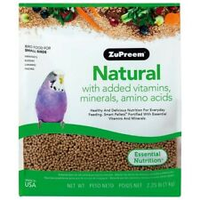 ZUPREEM NATURAL SMALL - COMPLETE FOOD FOR BUDGIES - 2.25LB