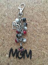 Mom Purse Charm Mom Bling Keychain Mom Minnie Purse Charm