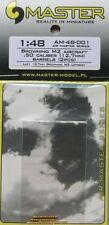 Master 1/48 Browning M2 aviones 0.50 calibre pistola barriles # 48001