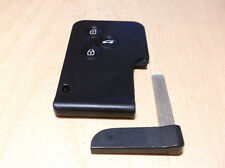 Renault Megane 2 / Scenic 2 Key Card 3 buttons new prepared chip PCF7947 SIEMENS