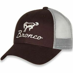 Ford Bronco Brown Trucker Hat * Ultimate Cap For Bronco Fans! FREE USA SHIPPING!