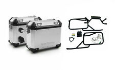 Royal Enfield Himalayan Silver Panniers & Rails Genuine Set with Free Oil Filter