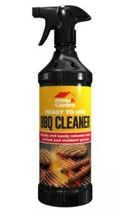 READY TO USE BARBECUE CLEANER 500ML SPRAY BOTTLE - HOME AND GARDEN UK