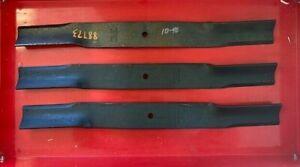 """Set/3 OEM Bush Hog 88773 72"""" Finish Mower Blades"""