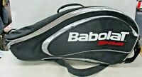 Babolat Team Backpack Tennis Multiple Racquet Bag Black Silver Red Clean (JB