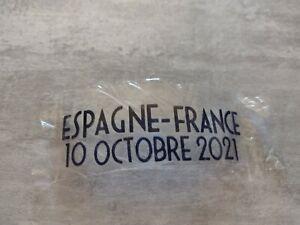 Patch Thermo maillot FFF Équipe de France Espagne ligue des nations finale milan