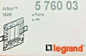 Legrand P/N:5 760 03 Frame - Arteor 1&2M