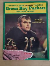 1971 Green Bay Packers Sports Focus Yearbook. ACCEPTABLE