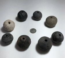 African Mali Spindle Whorl Beads