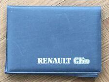 Instructieboekje Manual • Renault Clio  • 1994 • COMLETE SET  • Nederlands