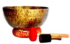 "18"" Master Healing Tibetan Singing Bowl~ Sound & body therapy handmade in Nepal"