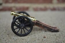 Americana Revolution English 6 Pounder Field Cannon Metal Brass Barrel Toy