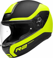 SCHUBERTH R2 NEMESIS YELLOW MOTORCYCLE HELMET  *HALF PRICE*- MEDIUM