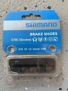 Shimano Deore XT BR-M770 S70C Cartridge Type MTB Bike Brake Shoes Pads Pair Set
