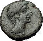 AUGUSTUS 27BC Philippi Macedonia PRIESTS Founding City Oxen Roman Coin i59292