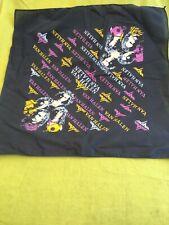 1980's Van Halen Bandana / Scarf Vintage New Old Stock 20.5�