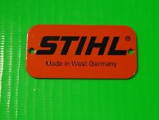 NAME TAG MODEL PLATE FOR STIHL CHAINSAW 028 038 044 046 OTHERS 0000 967 2020