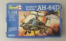 Revell Modelo Kit Longbow Apache AH-64D - Revell Modelo helicóptero 04031