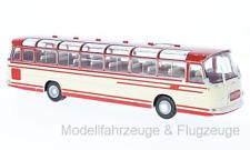 bus009 SETRA S14, beige/rouge, 1966, 1:43 IXO