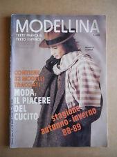 MODELLINA n°75 1988 con cartamodelli edizione Pieroni  [G582]