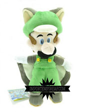 SUPER MARIO BROS. LUIGI MUSASABI PELUCHE wii u pupazzo new plush doll toad sanei