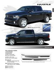 FOR DODGE RAM EE2119 Graphics Decal Emblems Stickers Stripes Trim 2009-2014