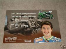 Eric Bostrom #32 Kawasaki Champion Poster ZX6RR ZX7R
