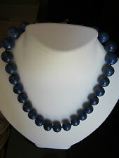 NEW  Lapis  Sterling Silver   Necklace