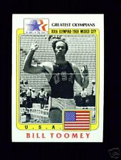 RARE 1983 OLYMPIC BILL TOOMEY DECATHLON CARD #21