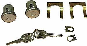 1973-1977 Chevy Monte Carlo Door Lock Cylinders With Keys  NEW