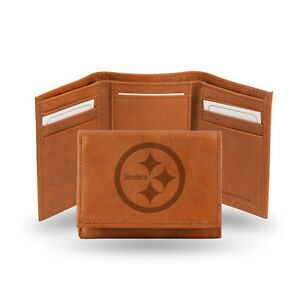 San Francisco 49ers NFL Embossed Leather Trifold Wallet ~ New