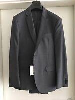 Calvin Klein Anzug - Grey Solid Suit - Gr. 48 - grau - neu - Preis 399€