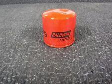 Oil Filter: Baldwin B179 - Full Flow Lube Spin On - Anti Drainback Valve (MJ)