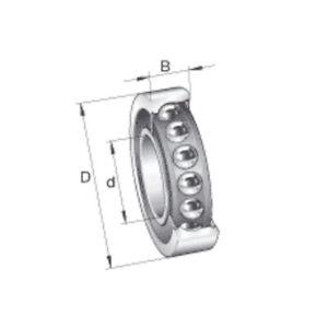 CUSCINETTO SNR 7017 CP/4 obliquo a sfere 17017 DBJ75