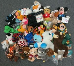 31 DISNEY AND OTHER PLUSH COLLECTON LOT - WHOLESALE BULK